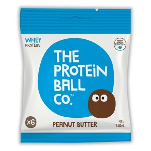 The Protein Ball Co. Whey Protein Ball Peanut Butter