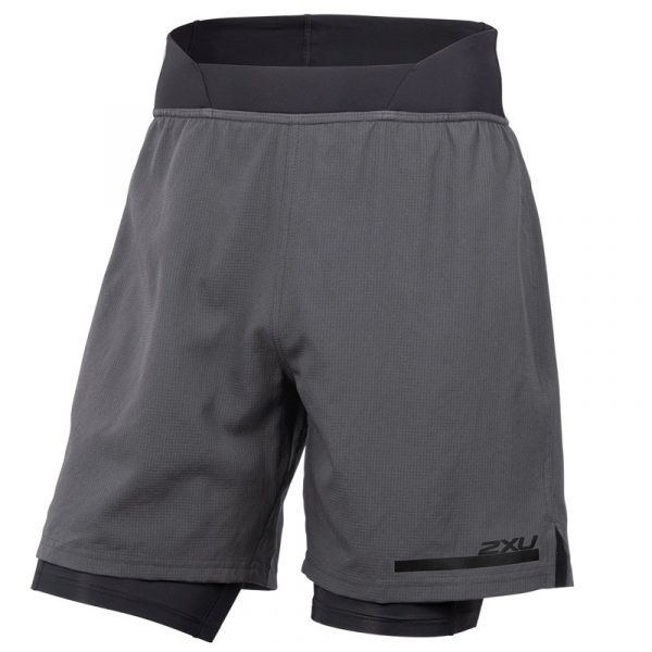 2XU Run 2in1 Men's Compression Short front