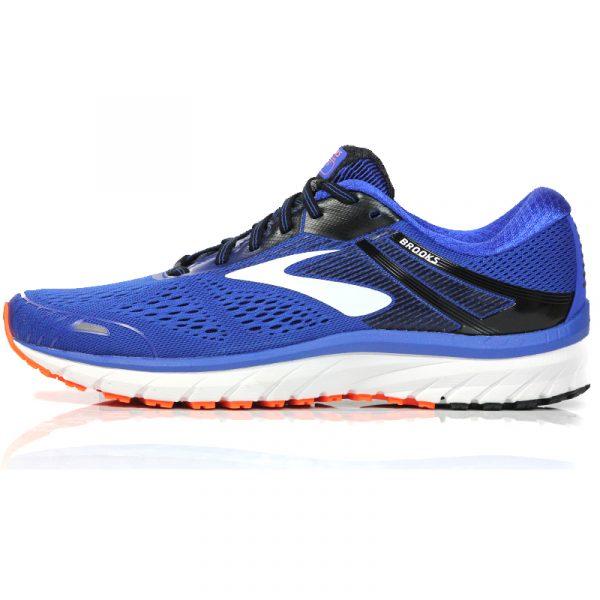 Brooks Adrenaline GTS 18 Men's Running Shoe 2E Wide Fit blue side