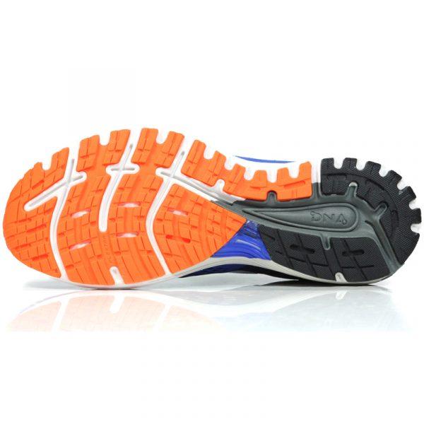 Brooks Adrenaline GTS 18 Men's Running Shoe 2E Wide Fit blue sole