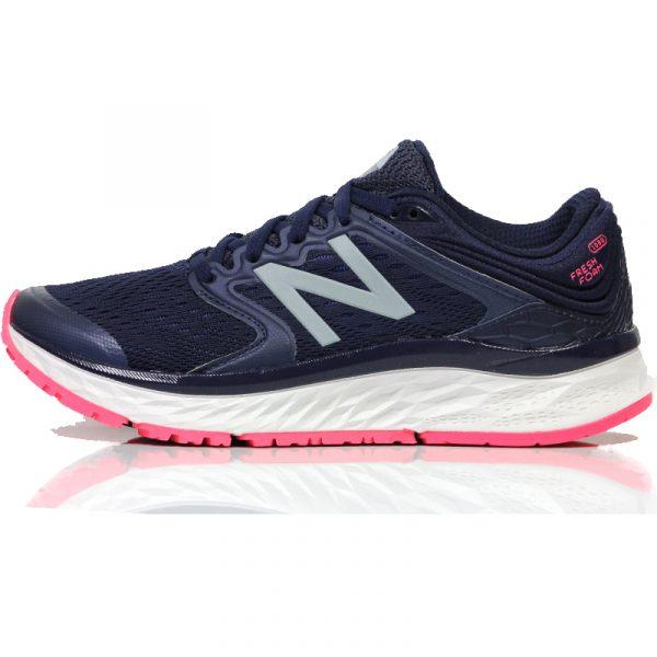new balance fresh foam 1080v8 women's running shoe side