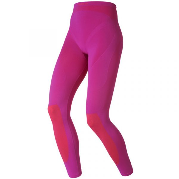 Odlo Evolution Warm Tight Women's Baselayer Pant pink front