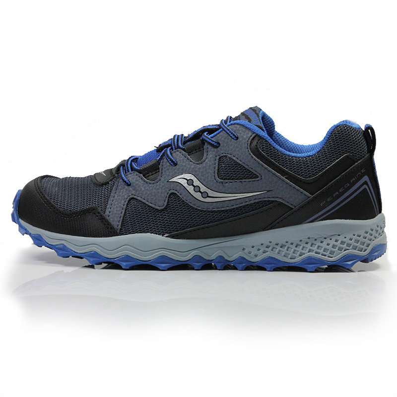 lowest price ea1ac 76aa1 Saucony Peregrine Shield Junior Trail Running Shoe