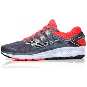 Saucony Omni 16 Women's Running Shoe grey side