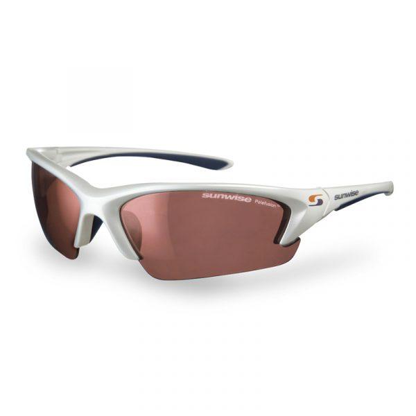 Sunwise Canary Wharf Running Sunglasses white
