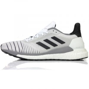 adidas womens solar glide running shoe grey side