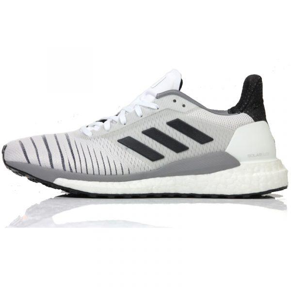 adidas womens solar glide running shoe grey side