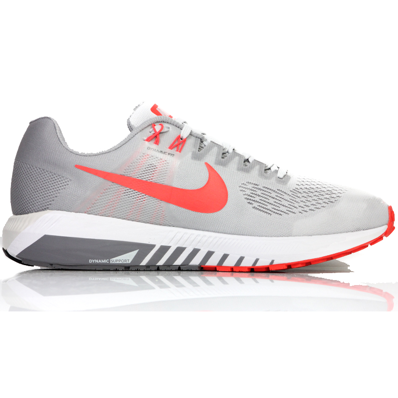 892950be25e Nike Air Zoom Structure 21 Men s Running Shoe grey back