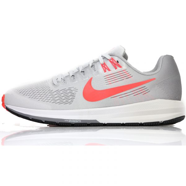 Nike Air Zoom Structure 21 Men's Running Shoe grey side