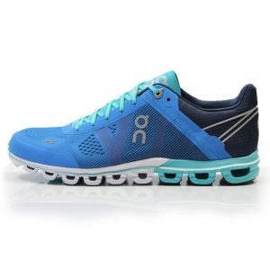 On Cloudflow Women's Running Shoe blue side