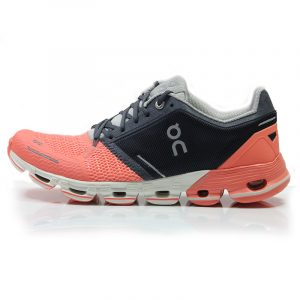On Cloudflyer Women's Running Shoe salmon side