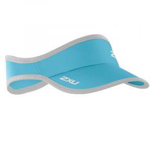 Blue 2XU running visor