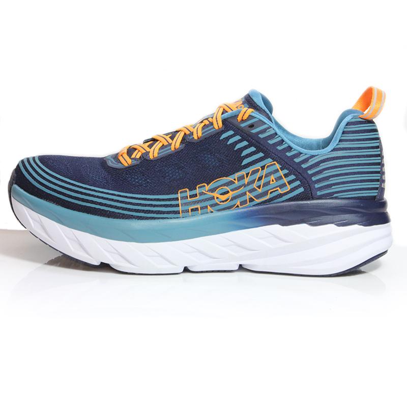 reputable site 39ab3 4e4c2 Hoka One One Bondi 6 Men's Running Shoe