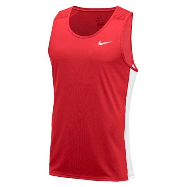 Nike Dry Miler Men's Running Tank Front View