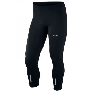 Nike Tech Men's Running Tight Black Front View