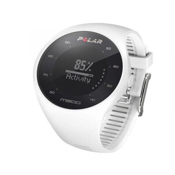 Polar M200 GPS Running Watch Side View