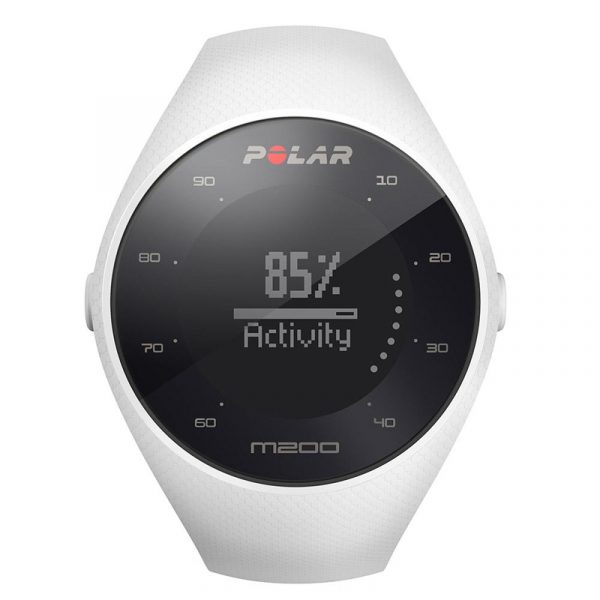 Polar M200 GPS Running Watch Front View