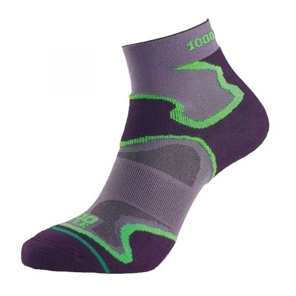 1000 Mile Fusion Anklet Women's Running Sock Side View