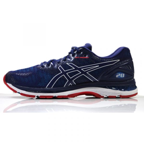 Asics Mens Running Shoe Gel Nimbus 20 Side View