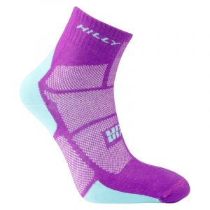 Hilly Twin Skin Anklet Running Sock Side View