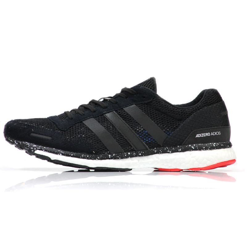 best service beb25 bebb3 adidas Adizero Adios Boost 3 Mens Running Shoe Side View