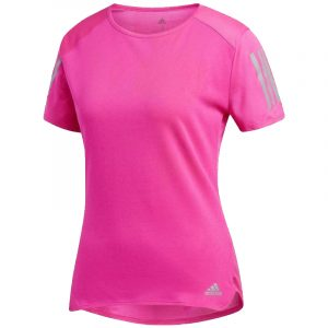 Adidas Response Women's Short Sleeve Running Tee Front View