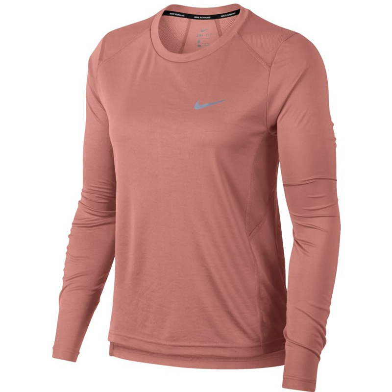 ce086afde Nike Miler Long Sleeve Women's Running Tee | The Running Outlet