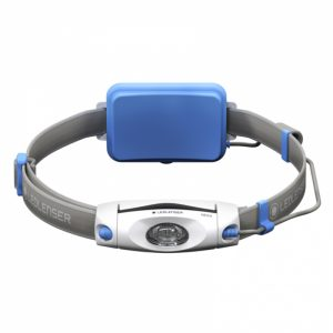 Ledlenser NEO4R Head Torch Blue