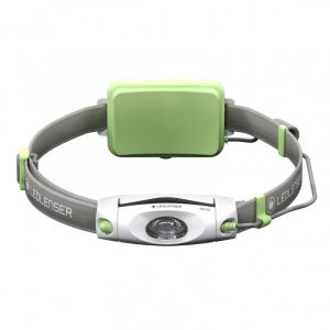 Ledlenser NEO4R Head Torch Green