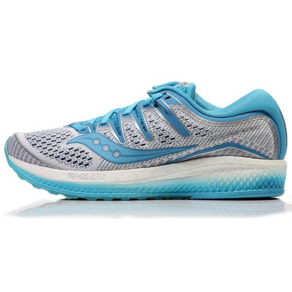 Saucony Triumph ISO 5 Women's Running Shoe Side View