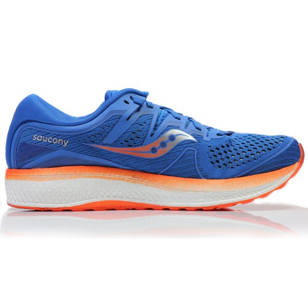 Saucony Triumph ISO 5 Men's Running Shoe Back View