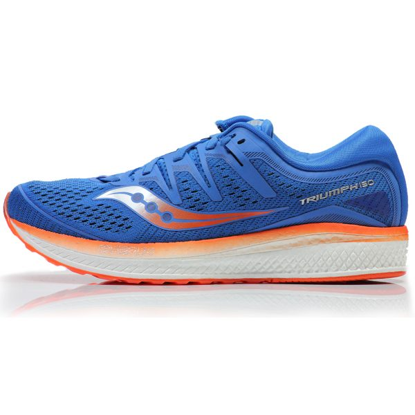 Saucony Triumph ISO 5 Men's Running Shoe Side View