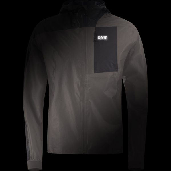 Gore Wear Gore-Tex Shakedry Men's Hooded Running Jacket Flash View