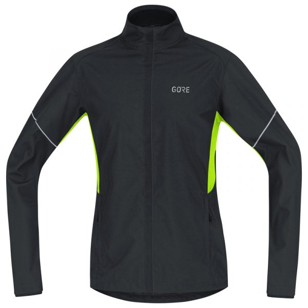 Gore Wear Partial Windstopper Men's Running Jacket Front View