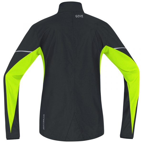 Gore Wear Partial Windstopper Men's Running Jacket Back View