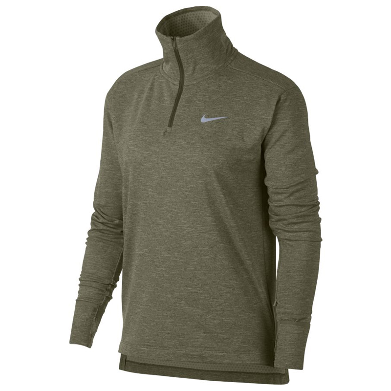 064f01a4c Nike Therma Sphere Element Half Zip Women's Running Top Front View