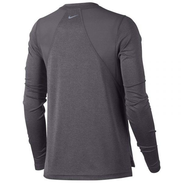 Nike Miler Long Sleeve Women's Running Tee Back View