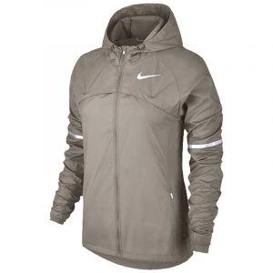 Nike Shield Hooded Women's Running Jacket Front View