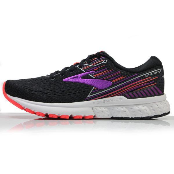 Brooks Adrenaline GTS 19 Women's Running Shoe Side View