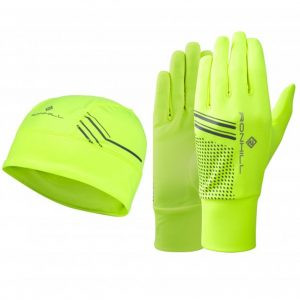 Ronhill Beanie and Glove Set Front