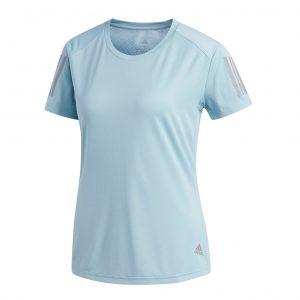 adidas Own The Run Short Sleeve Women's Running Tee Front View