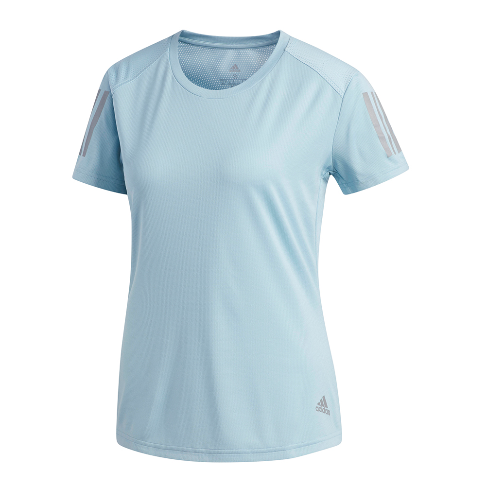 261176e836a1 adidas Own The Run Short Sleeve Women s Running Tee Front View