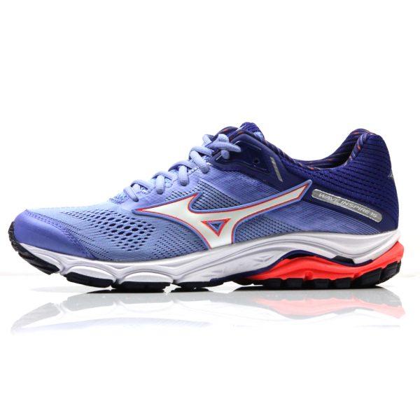Mizuno Wave Inspire 15 Women's Running Shoe Side View