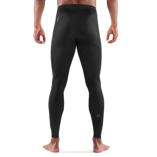 Skins DNAmic Ultimate Starlight Men's Compression Long Tight Back View on Model