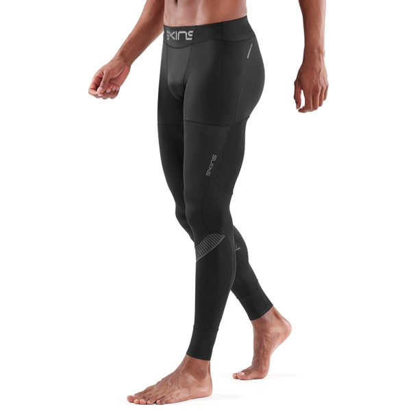 Skins DNAmic Ultimate Starlight Men's Compression Long Tight Side View On model