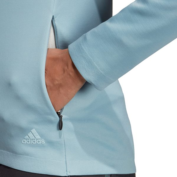 adidas PHX Women's Running Jacket Close Up