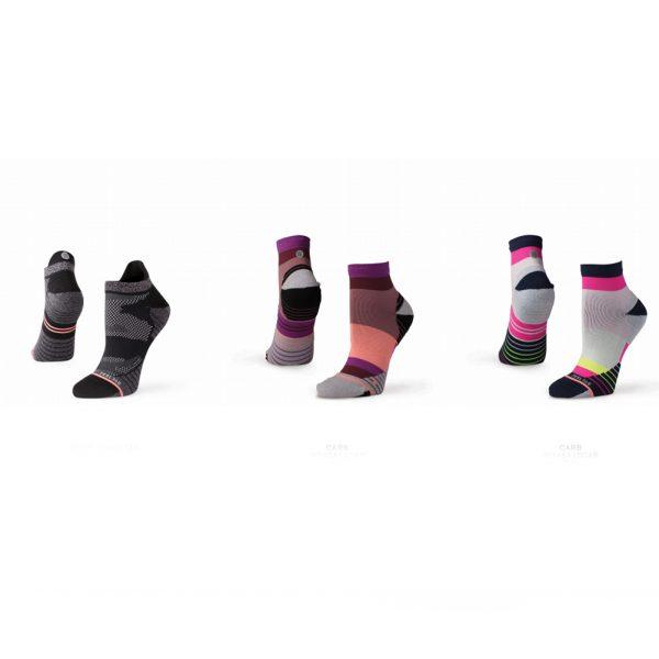 Stance Assorted Women's Running Sock Gift Pack multi colour socks