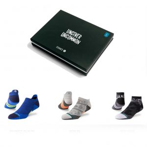 Stance Assorted Men's Running Sock Gift Pack with BOX