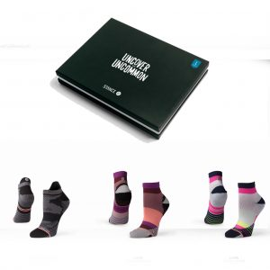 Stance Assorted Women's Running Sock Gift Pack With socks and gift box