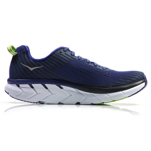 Hoka One One Clifton 5 Men's Running Shoe Back View